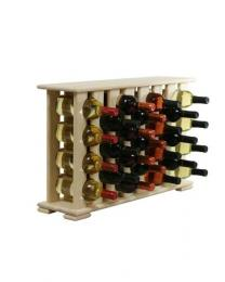 Regál na víno 4-8x4 BOROVICE
