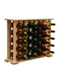 Regál na víno 4-8x5 BOROVICE