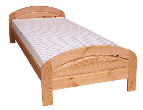 PL REGÁLY Dřevěná postel Jakub
