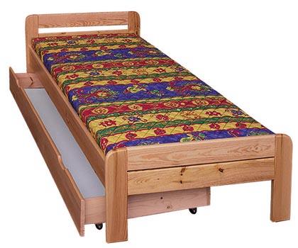 PL REGÁLY Dřevěná postel Zita
