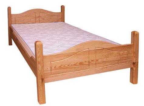 PL REGÁLY Dřevěná postel Sandra