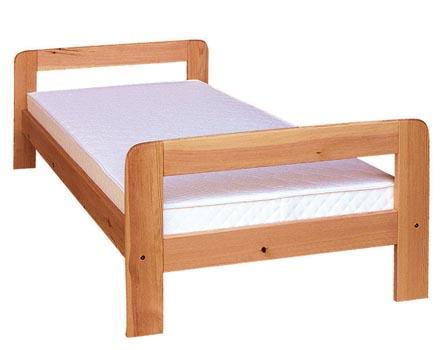 PL REGÁLY Dřevěná postel Nina