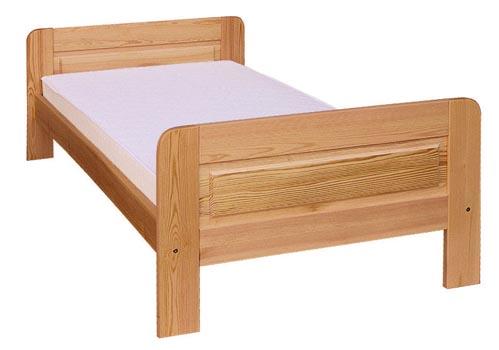 PL REGÁLY Dřevěná postel