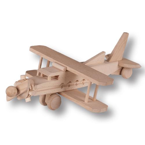 PL REGÁLY Dřevěné letadlo 1