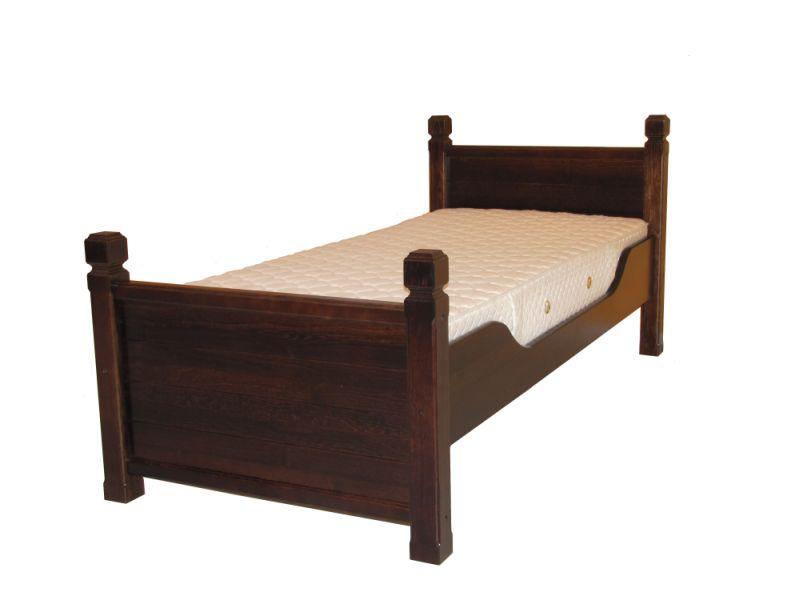 PL REGÁLY Dřevěná lůžko Retro 160x200