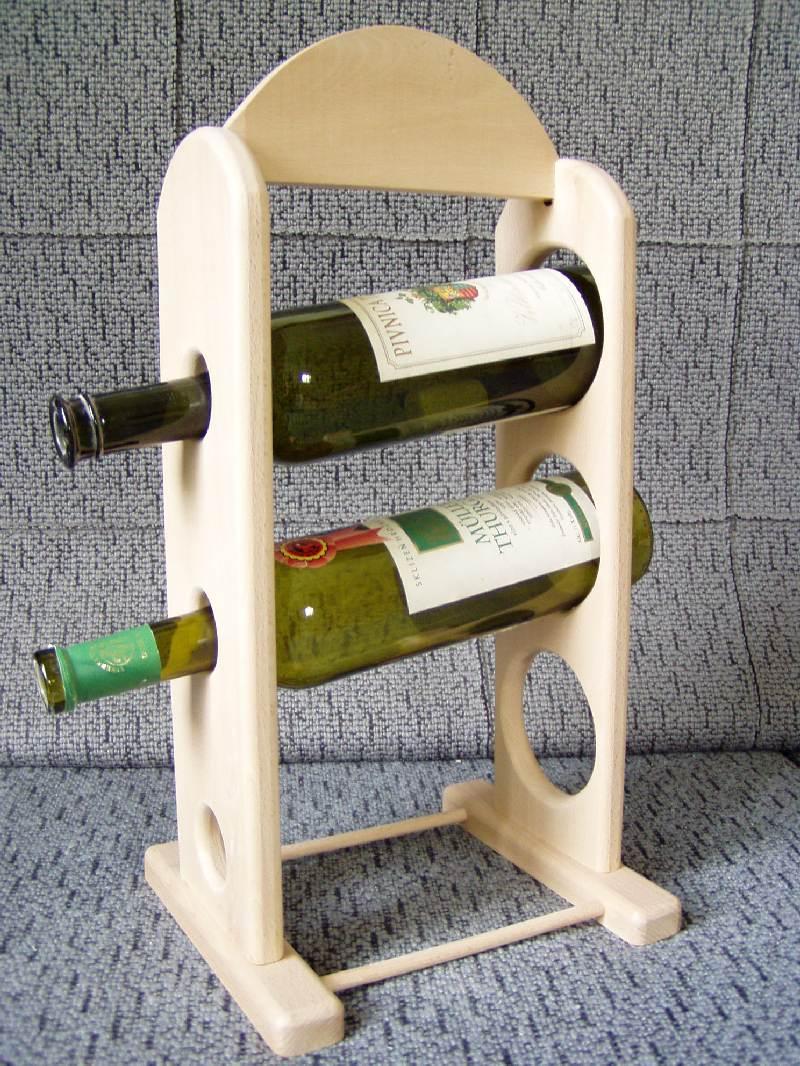 Stojan na víno - tři lahve