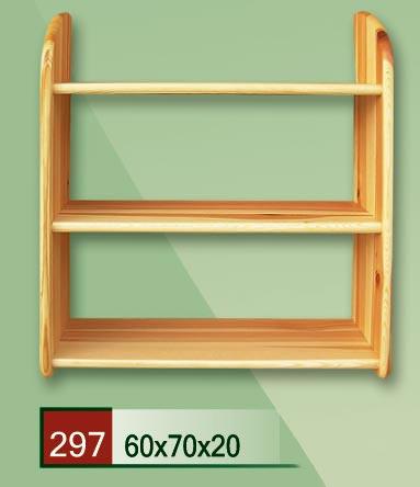 PL REGÁLY Dřevěná polička 20