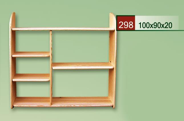 PL REGÁLY Dřevěná polička 298