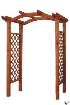 Dřevěný oblouk