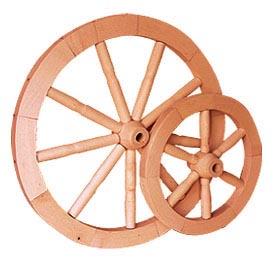 PL REGÁLY Kolo dřevěné malé