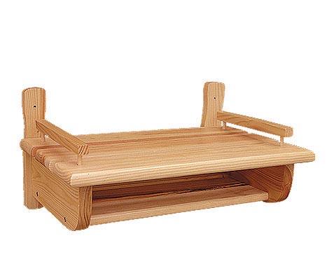 PL REGÁLY Dřevěná polička