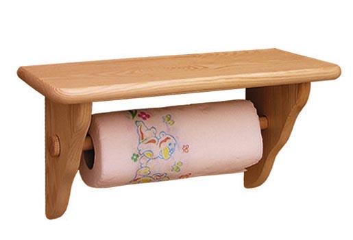 PL REGÁLY Dřevěný držák na papírové ubrousky