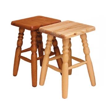 Dřevěná stolička - zvětšit obrázek