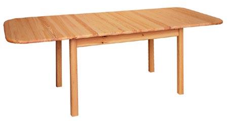 PL REGÁLY Dřevěný stůl rozkládací obdélníkový