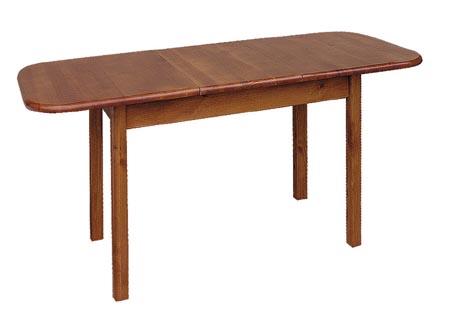 PL REGÁLY Dřevěný stůl rozkládací 75x160x70