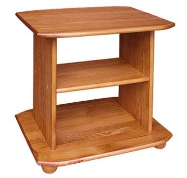 PL REGÁLY Dřevěný televizní stolek