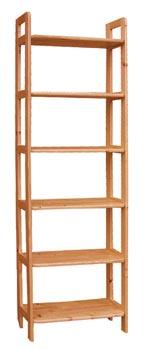 PL REGÁLY Dřevěný regál 80cm