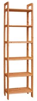 DREWAL Dřevěný regál 70cm