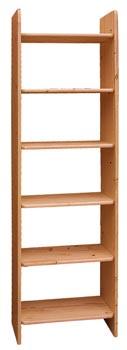 PL REGÁLY Dřevěný regál 50cm