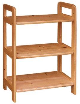 PL REGÁLY Dřevěný regál 60cm