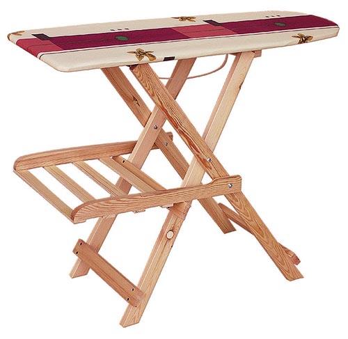 PL REGÁLY Dřevěné žehlící prkno