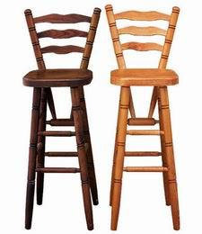 Døevìná židle barová 254 - zvìtšit obrázek