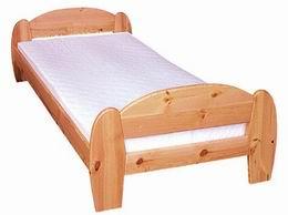 Døevìná postel Gina