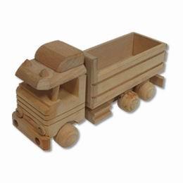 Døevìný kamion s návìsem - zvìtšit obrázek