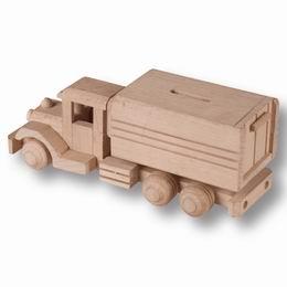 Døevìné nákladní auto