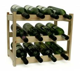 Regál na víno - 12 lahví - BOROVICE - zvìtšit obrázek