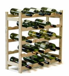 Regál na víno - 30 lahví
