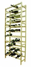 Regál na víno - 77 lahví BOROVICE