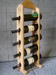 Stojan na víno - pìt lahví