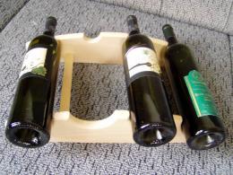 Stojan na víno - ètyøi lahve