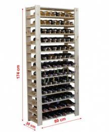 Vinný regál MAXI - 3 BOROVICE - zvìtšit obrázek