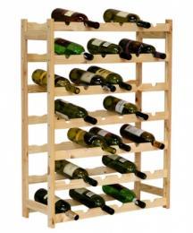 Regál na víno 42 lahví BOROVICE