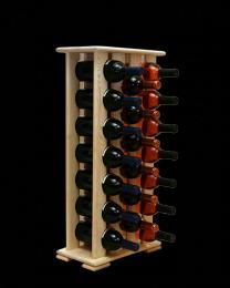 Regál na víno 4-4x7 BOROVICE - zvìtšit obrázek