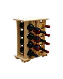 Regál na víno 4-4x4 BOROVICE - zvìtšit obrázek