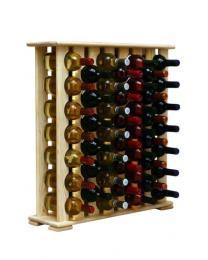 Regál na víno 4-8x7 BOROVICE - zvìtšit obrázek