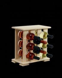 Regál na víno 4-4x3 BOROVICE - zvìtšit obrázek