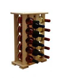 Regál na víno 4-4x5 BOROVICE