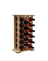 Regál na víno 4-4x6 BOROVICE