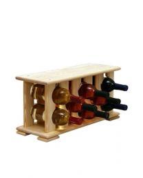 Regál na víno 4-6x2 BOROVICE