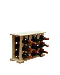 Regál na víno 4-6x3 BOROVICE