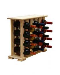 Regál na víno 4-6x4 BOROVICE