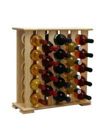Regál na víno 4-6x5 BOROVICE - zvìtšit obrázek