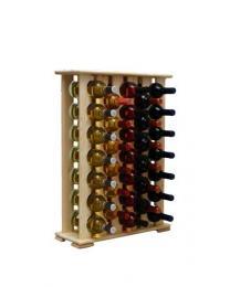 Regál na víno 4-6x7 BOROVICE