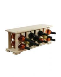 Regál na víno 4-8x2 BOROVICE - zvìtšit obrázek