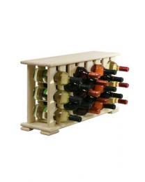 Regál na víno 4-8x3 BOROVICE