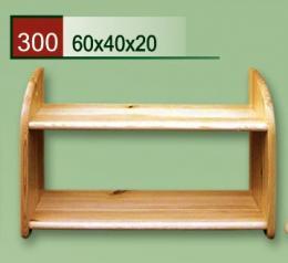 Døevìná polièka 300
